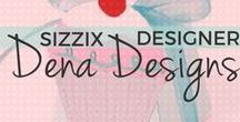 "Sizzix Designer: Dena Designs / ""Embellish your life"" is Dena's motto, and her products, books and media exposure have reached a legion of fans that value friendship, home, family and self-expression. As President and Creative Director of Dena Designs, Inc., Dena has beautifully juggled the roles of designer, businesswoman and mom while crafting a hugely successful company, lifestyle brand and wide array of products, ranging from home décor and accessories to greeting cards, gifts, craft items, books and more. What began 20 years ago as a Bloomingdale's best-selling bedding collection is now a merchandising/media program generating multi-millions in worldwide sales. Learn more at DenaDesigns.com."