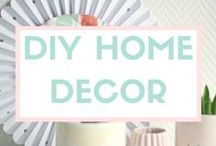 DIY HOME DÉCOR / Create custom decorations for your home with the help of Sizzix! / by Sizzix