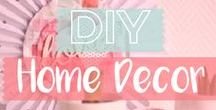 DIY Home Décor / Create custom decorations for your home with the help of Sizzix!