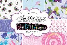 Surface Pattern Designs by JoDitt Designs / Surface pattern designs by JoDitt Williams. For licensing info go to http://joditt.com / by JoDitt Williams | JoDitt Designs