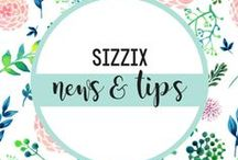 SIZZIX NEWS AND TIPS / See what's happening here at Sizzix! Keep up to date on new launches, giveaways, tips and more! / by Sizzix