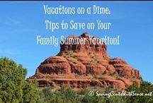 Travel Ideas / Family friendly travel destinations and activities. Whether you are planning spring break, summer trips, or winter vacations, you don't want to miss these get a ways! / by Melissa Hurst {SavingCentsWithSense.net}