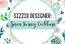 SUSAN TIERNEY-COCKBURN FOR SIZZIX / by Sizzix