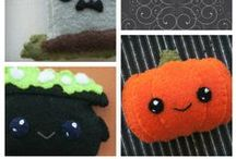 Free Patterns on our Blog! / Our free patterns with complete instructions on our blog, http://blog.craftyalien.com #kawaii