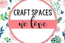 CRAFT SPACES WE LOVE / Loving these crafting spaces / by Sizzix