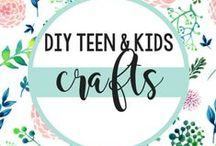 DIY TEEN & KIDS CRAFTS / DIY teen and kid-friendly crafts using Sizzix! / by Sizzix