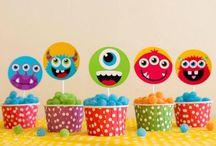 monster party / Monster themed party for your little monster! Lots of great ideas for a Halloween party too / by Niamh Partycakes
