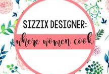 WHERE WOMEN COOK FOR SIZZIX / Where Women Cook celebrates extraordinary women who are passionate about their kitchens and all things food. Whether its culinary décor, entertaining ideas or mouth-watering food and drink recipes, Where Women Cook is a welcome spice to life. And now with the Where Women Cook design collection for Sizzix, you can complement your cooking with delicious designs that any taste can appreciate.  Find the collection at: http://www.sizzix.com/catalog#facets=designer~where-women-cook. / by Sizzix