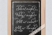 Chalkboard Art & Typography / by JoDitt | Joyful Heart Design