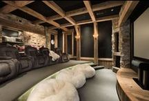Home Theaters / Home theaters designed by Locati Architects / by Locati Architects