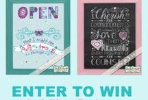 Contests & Giveaways / by JoDitt Williams | JoDitt Designs