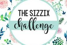 The SIZZIX Challenge / Challenge your crafting abilities and take The SIZZIX Challenge! Here we pin up all of our BEST projects made for this Sizzix-only event! / by Sizzix