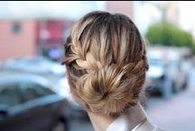 • Hairstyles • / Hair ideas.