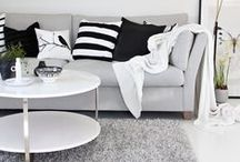 • Living Space • / Interior living space inspiration.