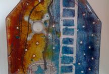 Fused Glass Examples / Inspiration  / by Sue Pip