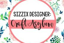 SIZZIX DESIGNER: CRAFT ASYLUM / We have joined up with new brand Craft Asylum to create a variety of Thinlits™ dies for each of their themed collections. Browse these creative makes from creative designers and be inspired. / by Sizzix