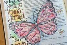 Bible Art Journaling / by JoDitt Designs | JoDitt Williams