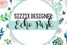 Sizzix Designer Echo Park / The place to find all your favorite Echo Park Paper Company Sizzix collections and see them in ACTION with fabulous, handmade, one-of-a-kind projects. / by Sizzix