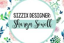Sharyn Sowell for Sizzix / Sharyn Sowell, whose beautiful, intricate, hand-scissored art has been replicated in a variety of serene designs. Get inspired here for projects made with Sharyn Sowell's Sizzix collection! / by Sizzix