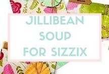 Jillibean Soup™ for Sizzix / This inspiring company prides itself in finding the best ingredients to create fun designs that whimsically suit any taste or time. Joining forces with Hampton Art, Inc.,Jillibean Soup has utilize this talented staff to market, manufacture, and distribute its unforgettable products. With its releases for Sizzix, Jillibean Soup continues to cook up a delicious blend of style and versatility for your next card, scrapbook page and more.  / by Sizzix