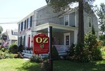 OZ Retail Boutique / Follow the yellow brick road (or Rte. 6A) to Barnstable, MA and get ready for a fashion extravaganza at OZ. You'll find everything from shoes, accessories, and the BEST fashion trends, not to mention Cucpcake International clothing, and prices that can't be beat!  www.ozcapecod.com