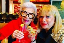 Iris Apfel - Fashion Icon and Friend / Cupcake International's founder and CEO Brenda Lee has formed a beautiful friendship with this amazing woman.  And guess what?  #IrisApfel loves #CupcakeInternational !  Take a peak at some of the fun and sentimental moments we've had with Iris.