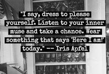 Fashion Pinspiration / Fashion Quotes and Inspiration