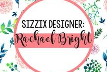 Rachael Bright for Sizzix / Get that 'Joi de Vivre' here with all the amazing, creative projects using the pretty and practical designs from Rachael Bright's Sizzix collection. / by Sizzix
