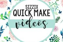 Sizzix Quick Make Videos / Quick make videos to help you create homemade projects. / by Sizzix