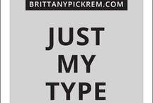 Typography  |  Type Design Inspiration