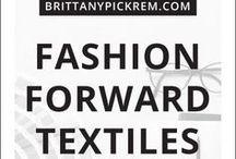 Fashion  |  Textile Inspiration
