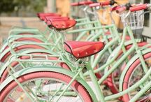bicycles / by Alice Tinney