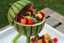 Play With Your Food / These are some really creative, interesting, and just flat out cute ideas for whatever!