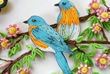 Quilling -Birds / by Martina Inngauer