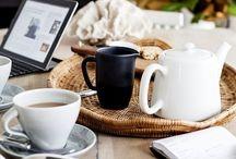 tea pair / Красивые чашки,чайники и на крытый стол