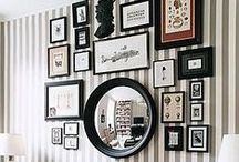 Inspiring Walls / Quotes, pictures, mirrors, photos, thoughts...