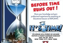 APCA EVENTS / Events for those involved in Student Life at institutions of Higher Education! / by APCA