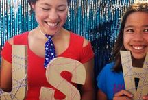 Holiday || 4th of July / Fourth of July crafts, recipe ideas and fun!