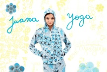 Juana Yoga / Linea yoga donde cada pieza es única, no hay dos iguales. Our yoga line.  In this line each item you see is unique we make them with different combination of stamps and colors that make each piece unique.  Shop online www.juanadearco.net