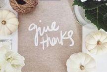 Holiday || Thanksgiving / Thanksgiving decor, recipe ideas and fun!