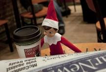 elf on the shelf. / elf on the shelf ideas. :) / by Amanda Bain