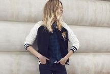 STYLE | VARSITY & BOMBER JACKETS / 50 ways to wear the varsity jacket. Exploring the possibilities of this piece of clothing