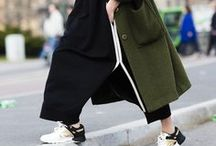 STYLE | SPORTY CHIC / Wear your sneakers out of the gim