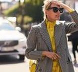 STYLE | YELLOW / In this board you will find how to wear yellow. From bold head-to-toe looks to bright pops of color, here's how to wear yellow, according to street-style stars.  #Yellow #colours #colores #amarillo #outfit #streetstyle #limon #mostaza #fashion #moda