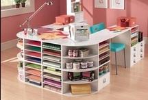 craft room.  / inspiration for my dream craft room! / by Amanda Bain