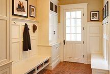 entryway / foyer / mudroom. / by Amanda Bain