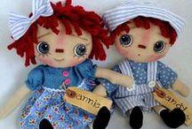 Soft Dolls  -  for my Mom / by Delane@AutumnWoodBears