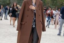 STYLE | COATS / The coat is the centrepiece of the winter wardrobe. It's the item we end up wearing the most throughout the season. From statement styles to classic cuts. #Winter #Coats #Streetstyle