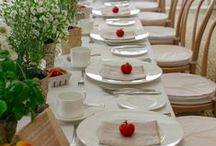 Celebrate || Tablescapes / Tablescape ideas for home and events