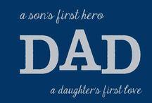 daddy stuff. / by Amanda Bain